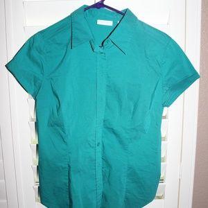 New York & Co short sleeve blouse